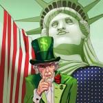 США - очень опасное для России и всего мира государство-паразит