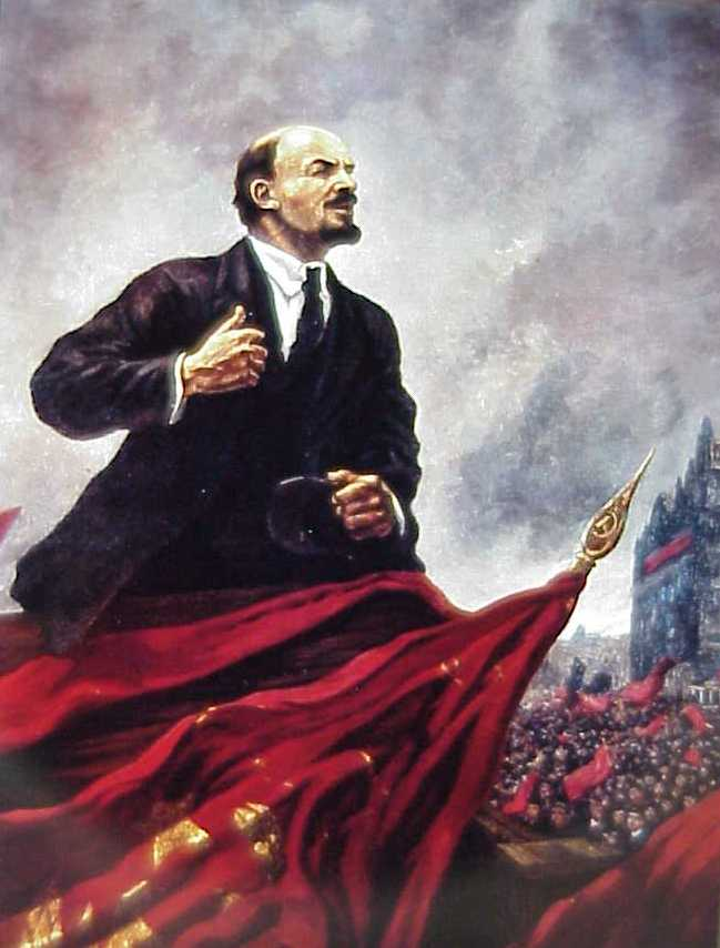 lenin and stalin as the revolutionary leaders