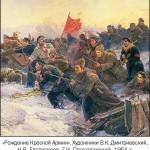 Победа большевиков в гражданской войне стала закономерной