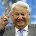 Ельцин - роковая  загогулина России