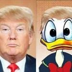 Как Дональд Трамп стал Дональдом Даком
